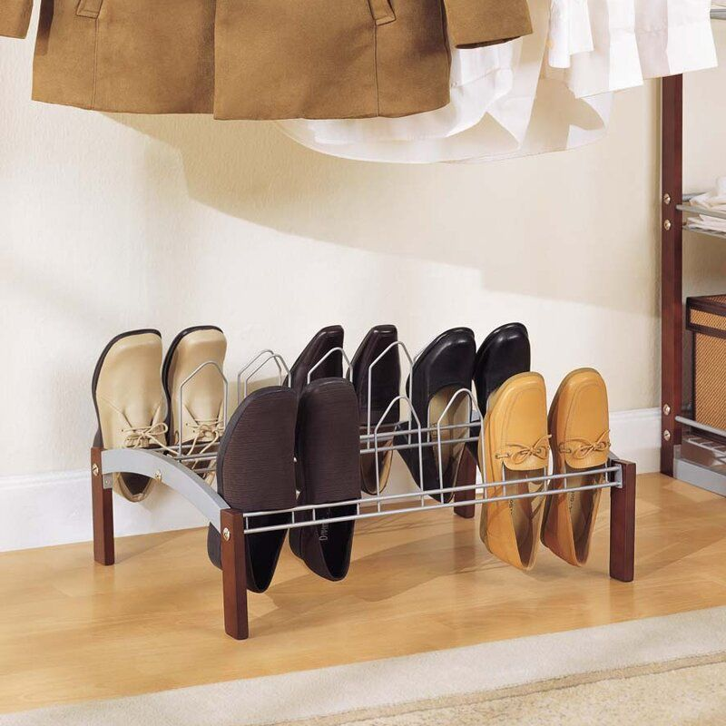 Espresso1 Tier9PairShoeRack - 20 clever shoe storage ideas for clutter-free living
