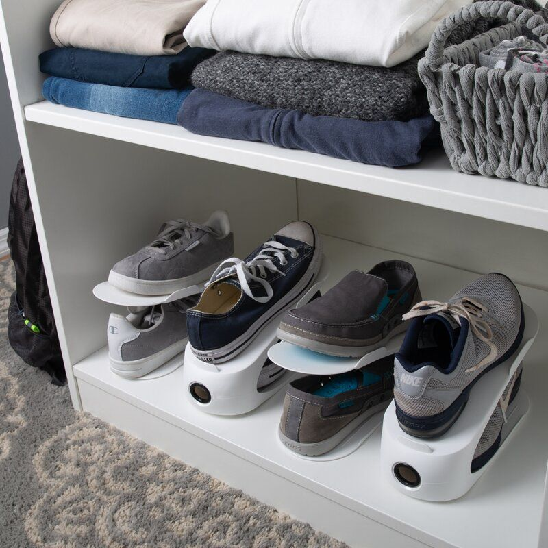 SpaceSaverShoeSlots - 20 clever shoe storage ideas for clutter-free living