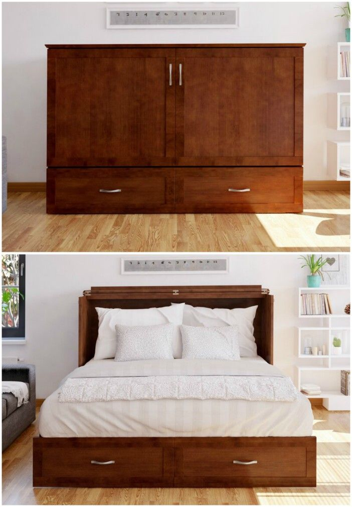 cabinet bed - Ten brilliant wall beds for small spaces