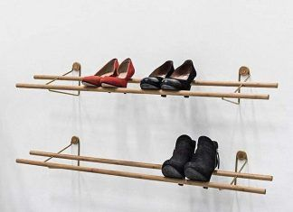 shoe rack design 1 1 324x235 - Artist built a micro gypsy wagon you can tow with your bike