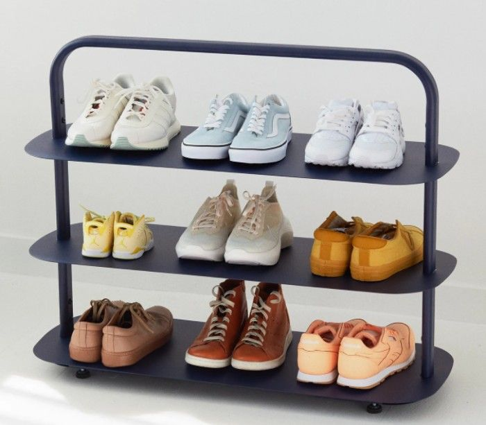 shoe rack - 20 clever shoe storage ideas for clutter-free living