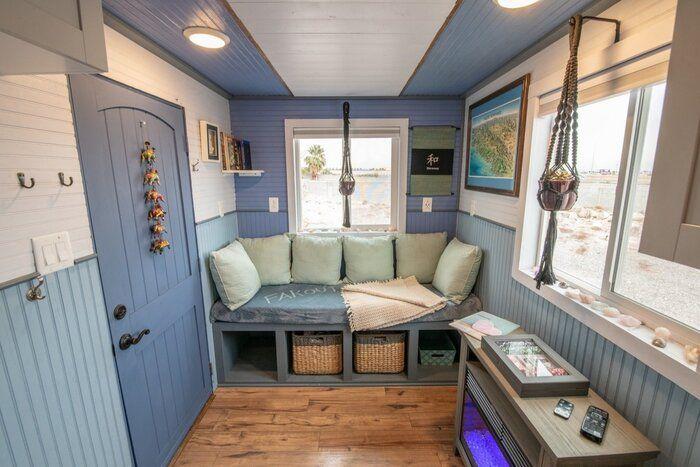tiny house blue baloo 1 - Airbnb tiny house host made $23K in under a year. Learn how she did it