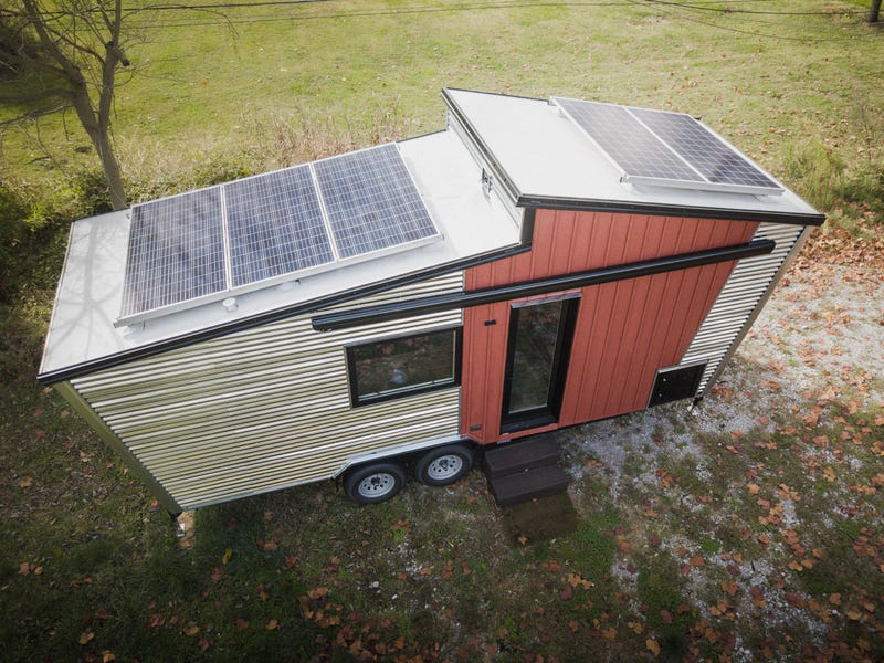 tiny house gosun off grid 4 - GoSun launches $69,500 solar-powered tiny house designed to last over a month off-grid