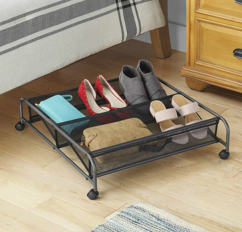 under bed shoe storage - 20 clever shoe storage ideas for clutter-free living