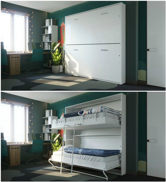 wall bunk beds otis - Ten brilliant wall beds for small spaces