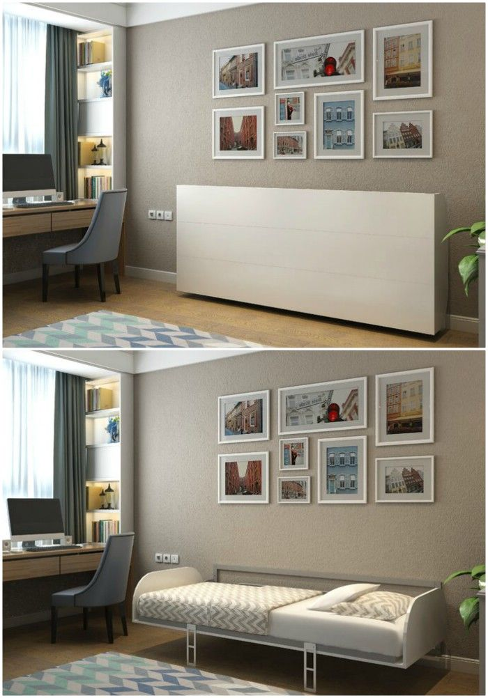 wall bed - Ten brilliant wall beds for small spaces