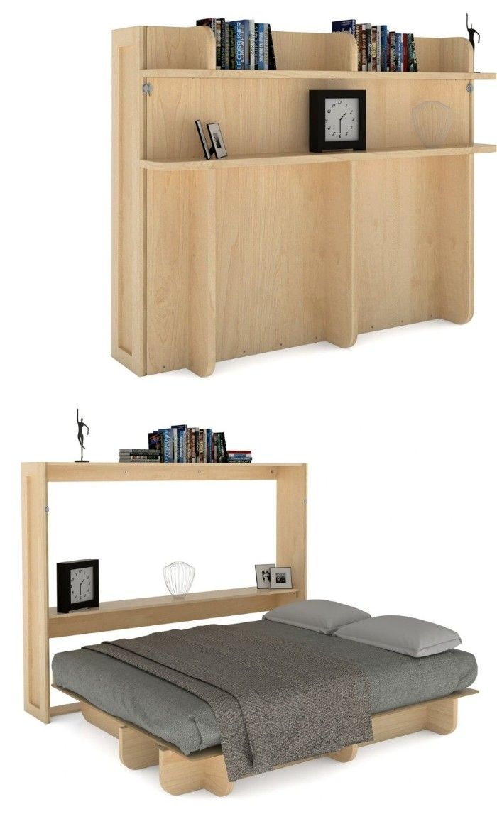 wall bed budget 3 1 - Ten brilliant wall beds for small spaces