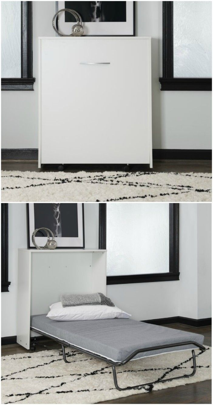 white wall bed - Ten brilliant wall beds for small spaces