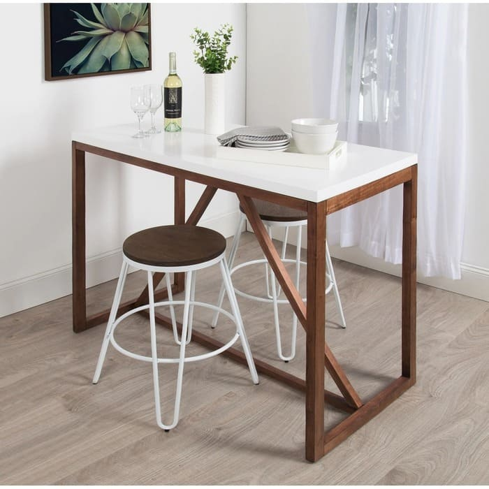 Kate and Laurel Kaya Counter Height Pub Table 1 - 27 amazing dining table ideas for small spaces