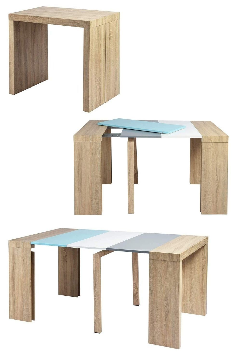 expandable dining table - 27 amazing dining table ideas for small spaces