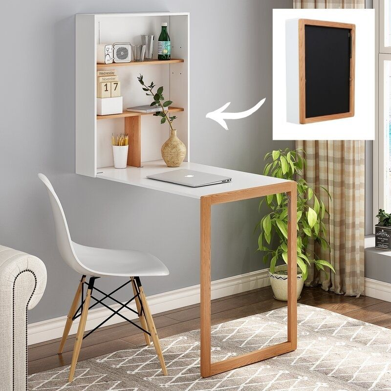 wall dining table - 27 amazing dining table ideas for small spaces