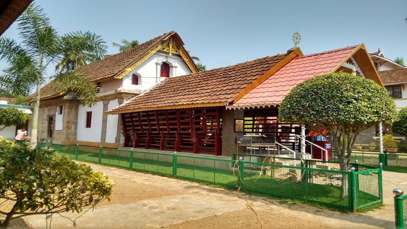 The first church built in Tamil Nadu
