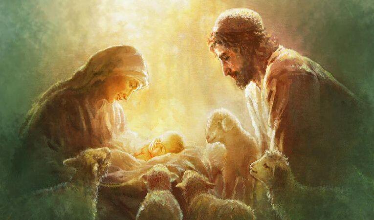நிச்சயிக்கப்பட்ட அல்லது ஒருவருக்கு ஒருவர் நியமிக்கப்பட்ட யோசேப்பு மற்றும் மரியாள்