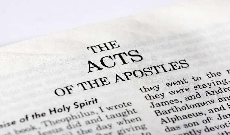 அப்போஸ்தல நடபடிகளும் இன்றைய நிலைகளும்