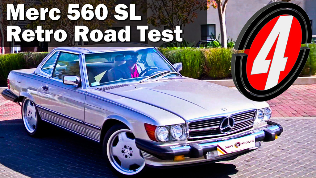 1989 Mercedes Benz SL 560   Used Car Review