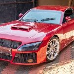 South African man builds his dream car