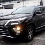 All New Facelifted Toyota Fortuner