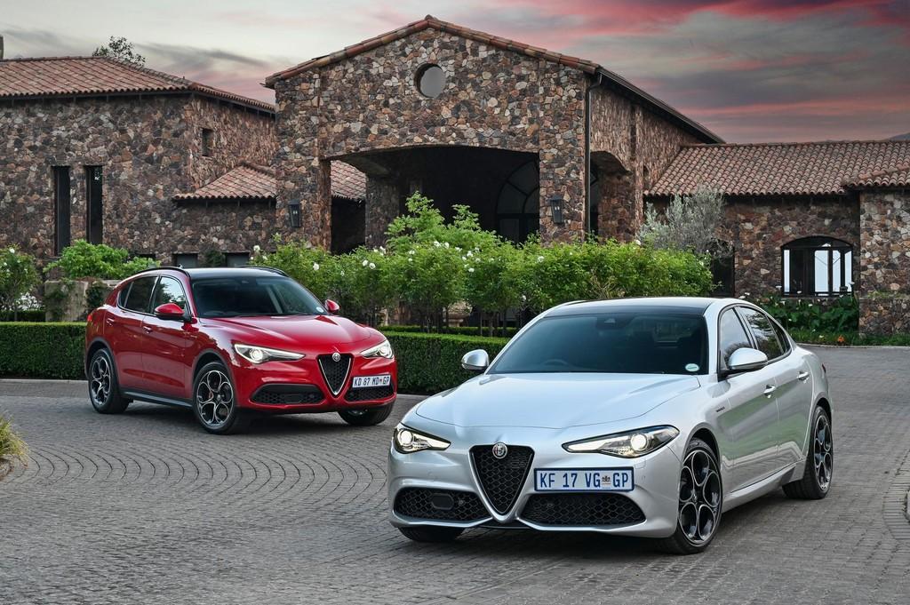 Stellantis unleashes the updated Alfa Romeo Giulia and Stelvio in Mzansi