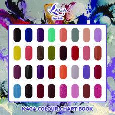 Kaga Colour Chart Book