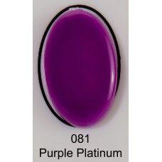 uv gel nail polish BMG 081 Purple Platinum