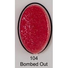 uv gel nail polish BMG 104 Bombed Out
