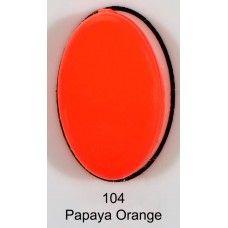 gel nails Love Easy 104 Papaya Orange