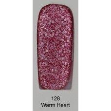 gel polish QLZ 128 Warm Heart