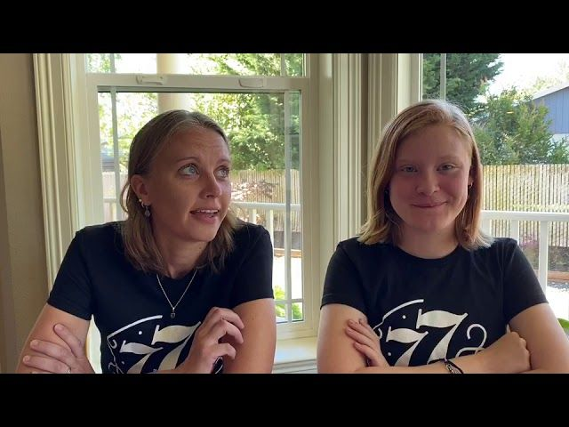 77 Project: Laurie & Lyndhi Share a Story