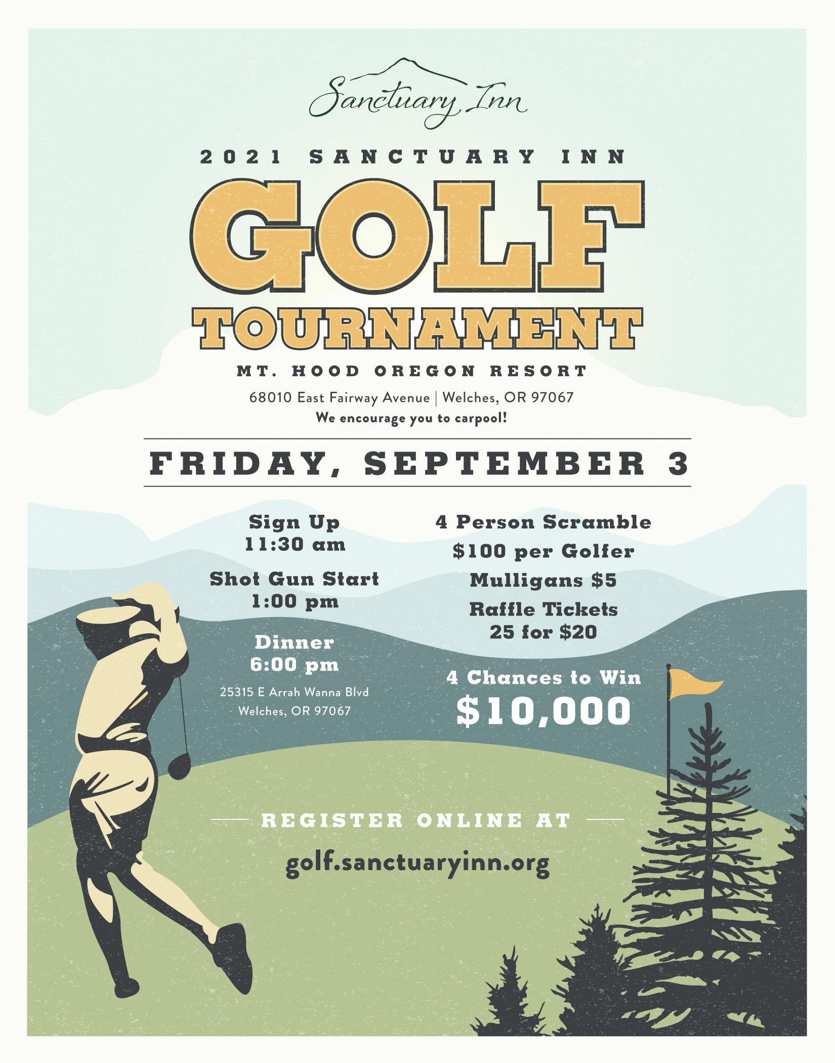2021 Sanctuary Inn Golf Tournament
