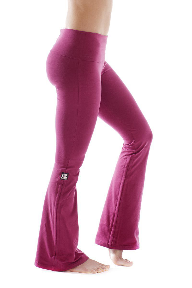 e3f1a042be53 Lotus pant fuchsia - Yogabyxor | Saprema of Sweden