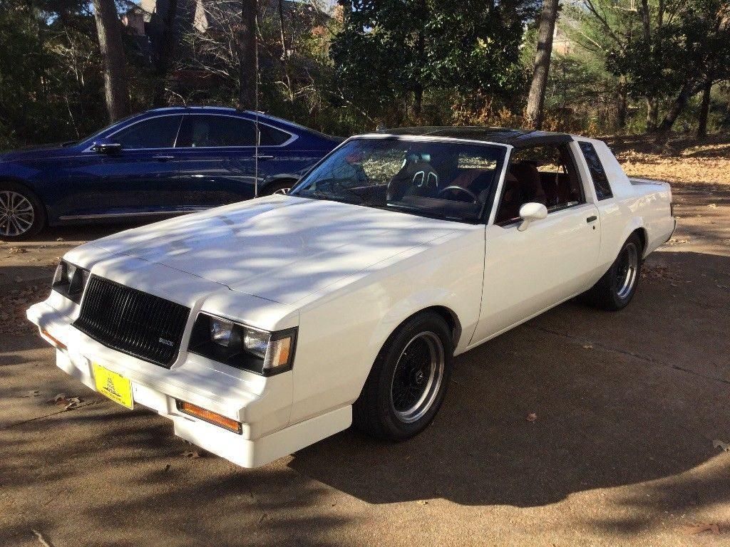 Nice 1987 Buick Regal T Type