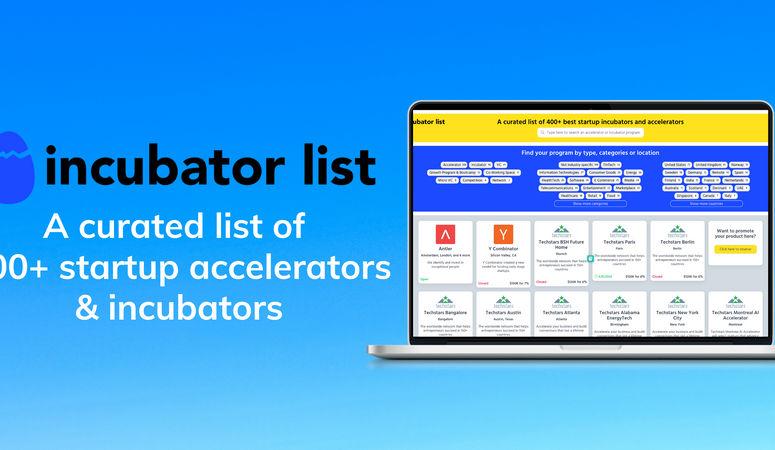 Incubator List