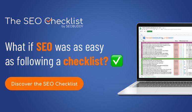 The SEO Checklist