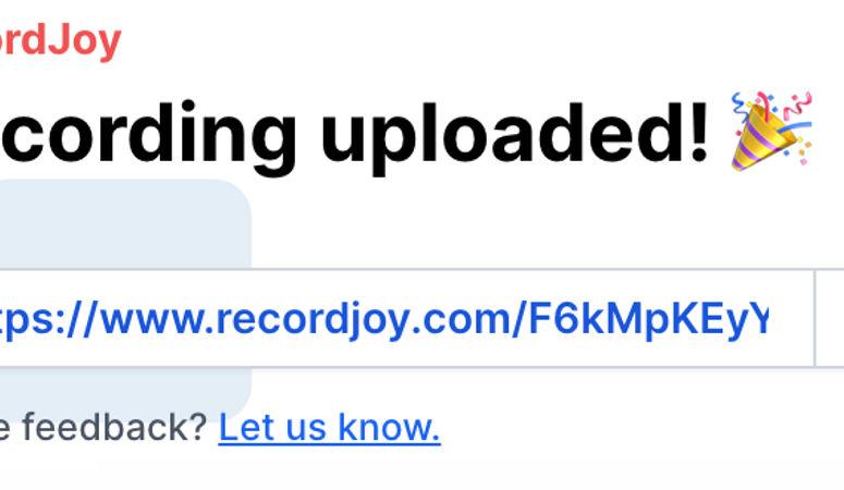 RecordJoy