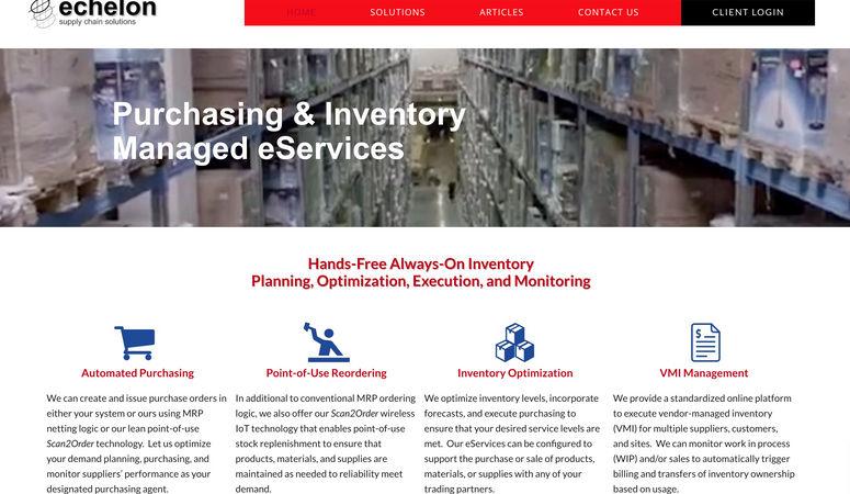 Echelon Supply Chain Solutions