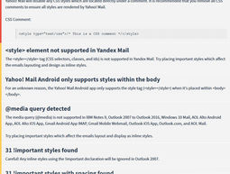 HTML Email Check