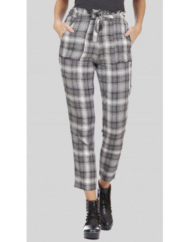 SbuyS - Belted Plaid Pant