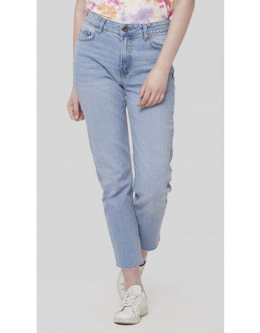 SbuyS - Light Wash Cropped Jeans