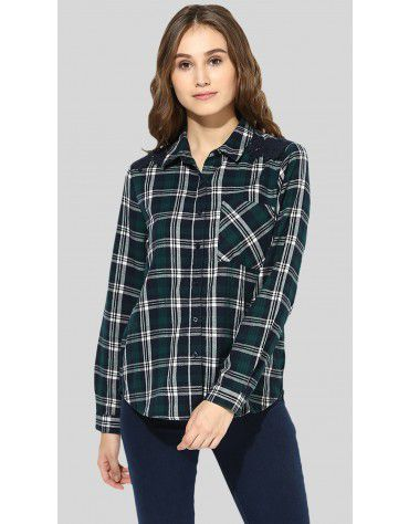 SbuyS  - Plaid Button Down Shirt