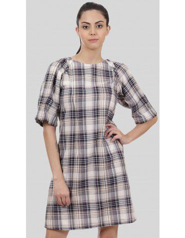 SbuyS - Plaid Midi Dress