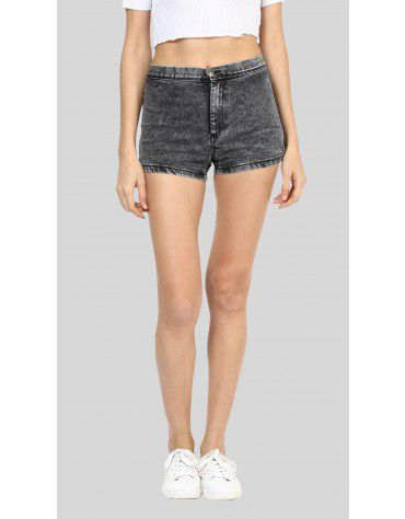 SbuyS - Regular Fit Denim Shorts