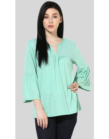 SbuyS - Schiffly Yoke Peasant Swing Top