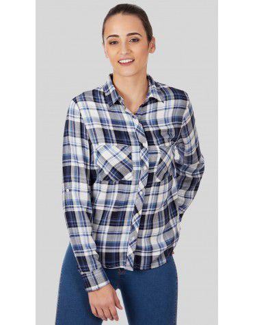 SbuyS  - Button Down Plaid Shirt