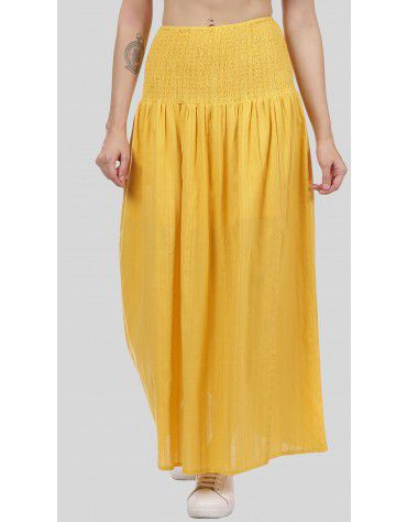 SbuyS  - Smocked Waist Maxi Co-ords Skirt Set