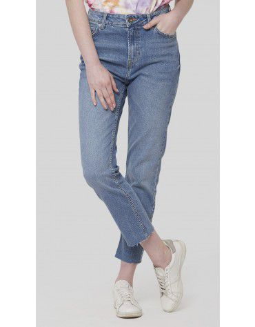 SbuyS - Mid Wash Cropped Jeans