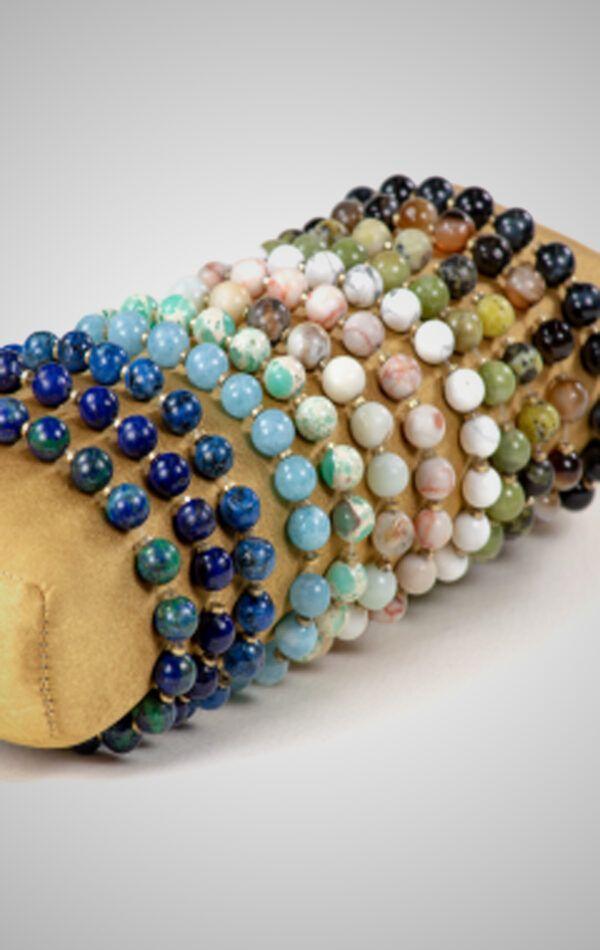 Stone Energy Bracelet Set