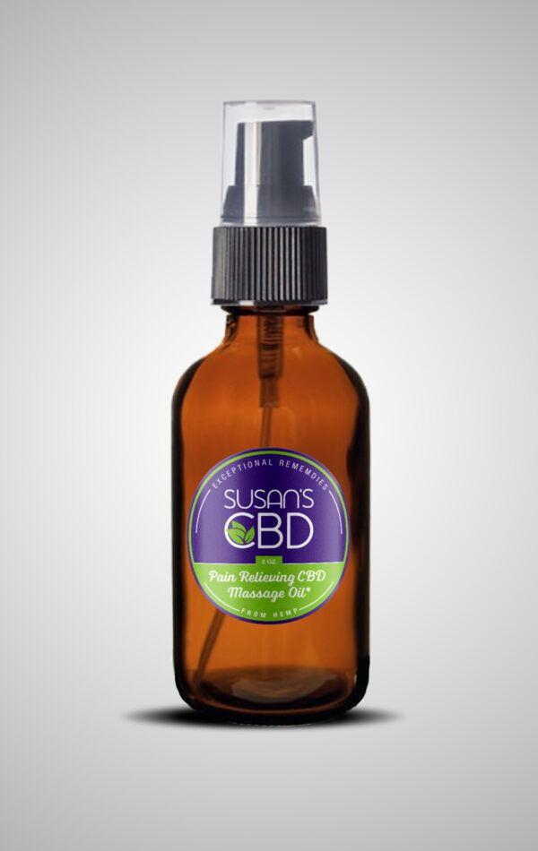 Susan's Massage Oil 2oz