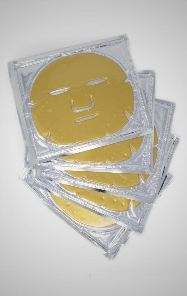 Gold Face Masks