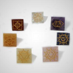 Pyramid Chakra Set