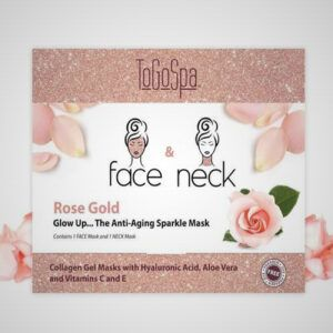 Rose Gold Face and Neck Mask